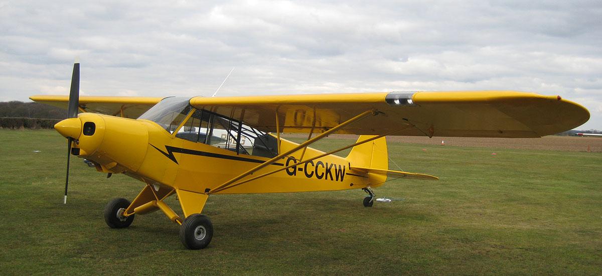 vintage piper aircraft